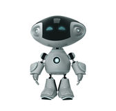 Positive toy robot Royalty Free Stock Image