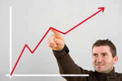 Positive trend Royalty Free Stock Photo