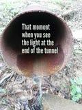 Positive Tunnel stock photos