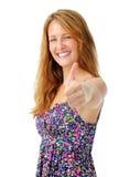 Positive woman Stock Photos