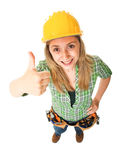 Positive worker Stock Photography
