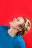 Positive young man Royalty Free Stock Image