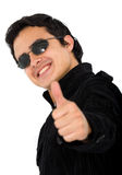 Positive young man Stock Photography