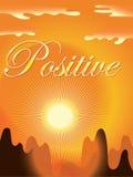 Positiver Hintergrund Stockfotografie