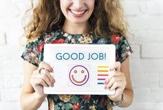 Positives denkendes Glück-Lebensstil-Konzept lizenzfreie stockfotografie