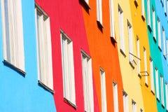 Positives Haus. stockfotografie