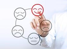 Positives Konzept Stockfotos
