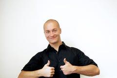 Positives Lächeln lizenzfreie stockfotos