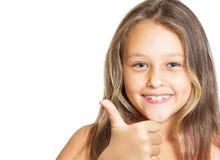 Positives Mädchen Stockbilder