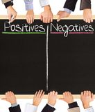 Positives Negatives Stock Photos