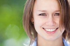 Positivity young woman Stock Photos