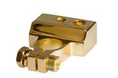 Positivt batteri för BIL för kontaktterminal Royaltyfri Bild