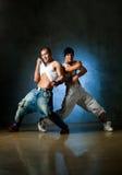 Posizione del danzatore Fotografia Stock Libera da Diritti