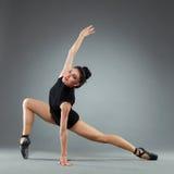 Posizione del danzatore di balletto Fotografia Stock Libera da Diritti