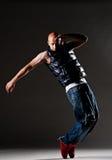 Posizione del danzatore di Hip-hop immagine stock libera da diritti