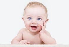 Posizione del neonato Fotografie Stock Libere da Diritti