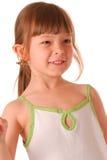 Posizione della bambina Fotografie Stock Libere da Diritti