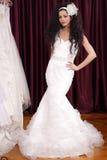 Posizione della sposa Fotografia Stock Libera da Diritti