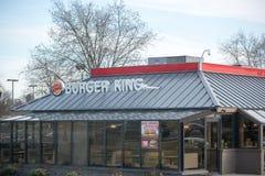 Posizione di Burger King Retail Fast Food Ogni giorno, più di 11 milione ospiti visitano Burger King II Immagini Stock Libere da Diritti