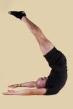 Posizione di Pilates - lama del Jack Fotografia Stock Libera da Diritti