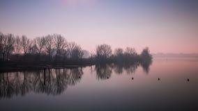 Posizione, lago mantua - Lombardia- Italia fotografia stock libera da diritti