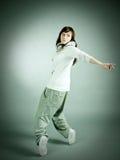 Posizione moderna del danzatore di stile Immagine Stock Libera da Diritti