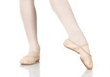 Posizioni dei piedi di balletto fotografie stock libere da diritti
