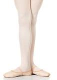 Posizioni dei piedi di balletto immagini stock libere da diritti