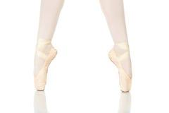 Posizioni dei piedi di balletto fotografie stock
