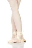 Posizioni dei piedi di balletto immagine stock libera da diritti