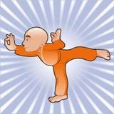 Posizioni di yoga Fotografie Stock Libere da Diritti