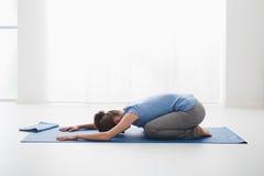 Posizioni di yoga Fotografie Stock