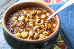 Posole Ready to Eat Stock Photography