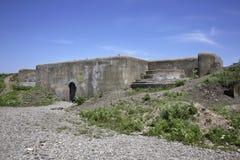 Pospelovsky battery in Vladivostok fortress. Russian island. Russia Royalty Free Stock Photography