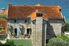 pospolici Balkans budynki Obraz Royalty Free