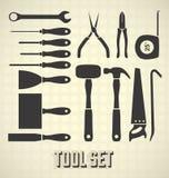 Pospolitego narzędzia kolekcja Fotografia Stock