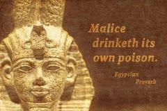 Posséder le poison Egypte antique Photo stock