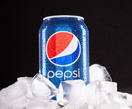Possa di Pepsi Immagini Stock