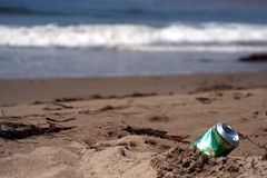 Possa na praia Foto de Stock Royalty Free