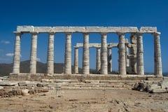 Posseidon's świątynia Zdjęcie Stock