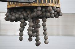 Posses do ímã que moem bolas Fotografia de Stock Royalty Free