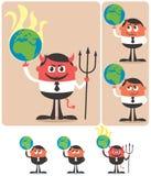 Possession de la terre illustration libre de droits