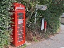 Possibilità di scambio di libro improvvisata in Devon Regno Unito Immagini Stock