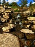 Possibilité éloignée de cascade du Missouri Photo stock