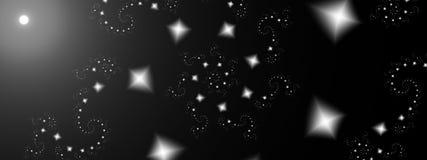 Possibilities, panoramic. Panoramic of diamond spirals in grayscale Stock Image