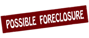 Possible foreclosure Stock Photos