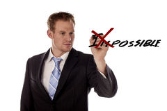 Possible. Royalty Free Stock Photography