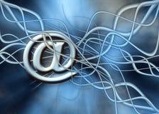 Postübertragung. lizenzfreie abbildung