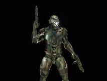 Postępowy super żołnierz Zdjęcia Royalty Free
