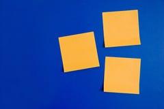 Post-it σημειώσεις Στοκ εικόνα με δικαίωμα ελεύθερης χρήσης